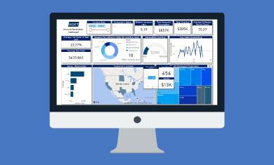 Accounts Receivable & Payable Dashboard