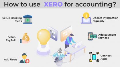 How to use XERO accounting software for business?