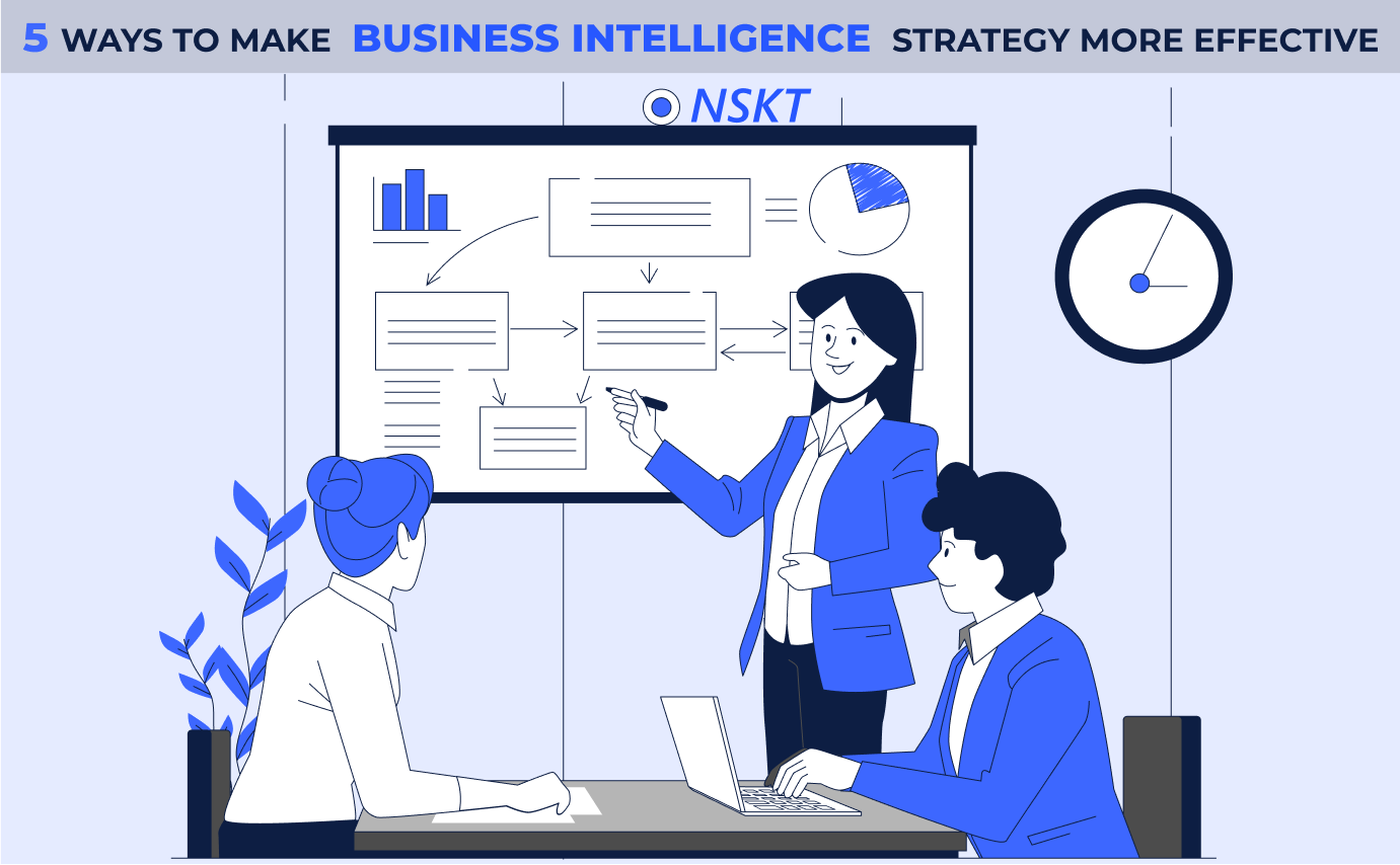 5 ways to make your business intelligence strategy more effective